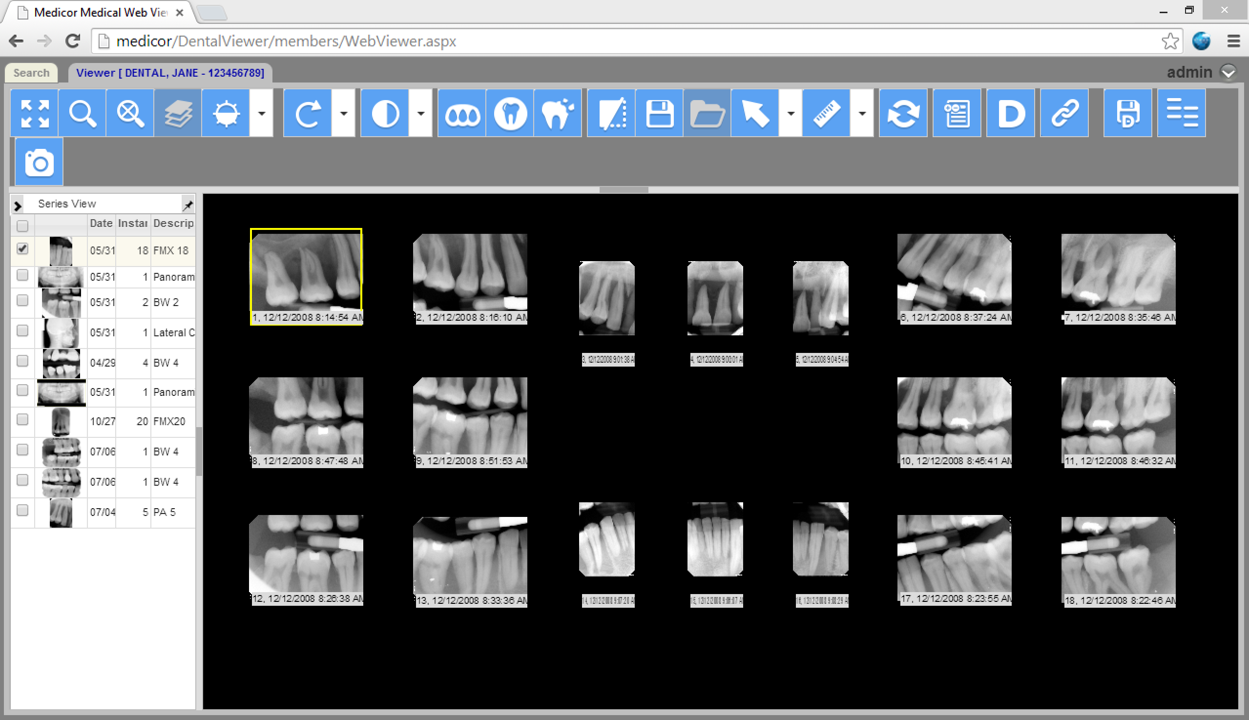 MiPACS HTML5 Web Viewer - Medicor Imaging