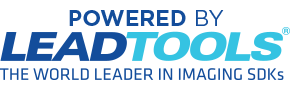 Powered by LEADTOOLS, the World Leader in Imaging SDKs
